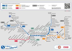 Liniennetz Kärnten 2017